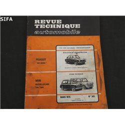 Mini British Leyland Revue technique