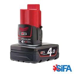 M12 B4 Batterie Red Lithium 4.0AH