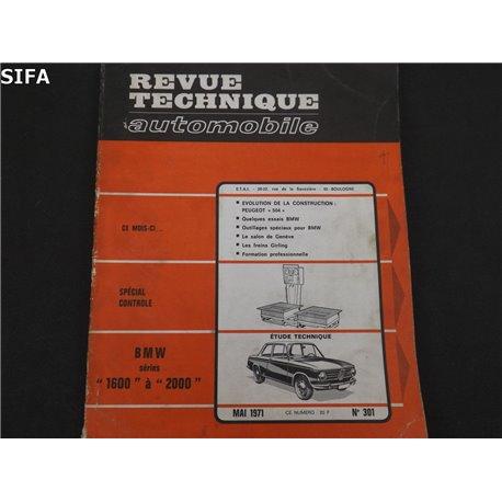 BMW séries 1600 à 2000 Revue technique